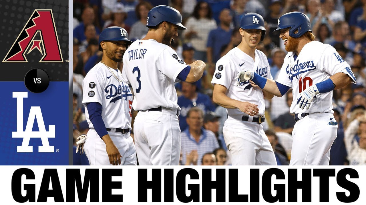 Download Diamondbacks vs. Dodgers Game Highlights (7/10/21) | MLB Highlights