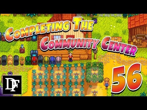 Finishing The Community Center! - Stardew Valley