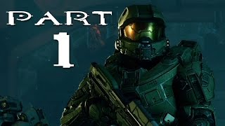 Halo 5 Walkthrough Part 1 - Mission 1 (Halo 5 Campaign Gameplay) SPOILERS