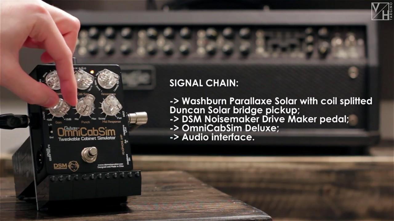 DSM Noisemaker OmniCabSim Deluxe - GUITAR DEMO