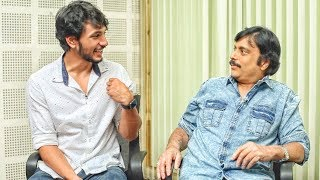 connectYoutube - Father & Son Non Stop Troll! Actor Karthik, Son Gautham Karthik's Combo Fun Interview!