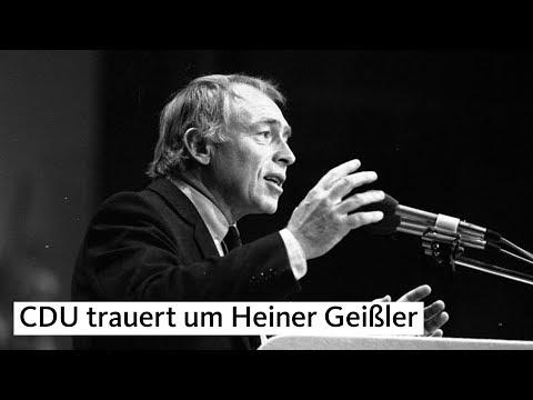 Angela Merkel zum Tode von Heiner Geißler