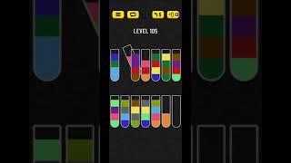 water sort puzzle level 105 screenshot 2