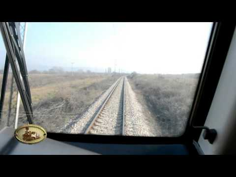 Test drive of МZ EMU 411 produce by China's CRRC