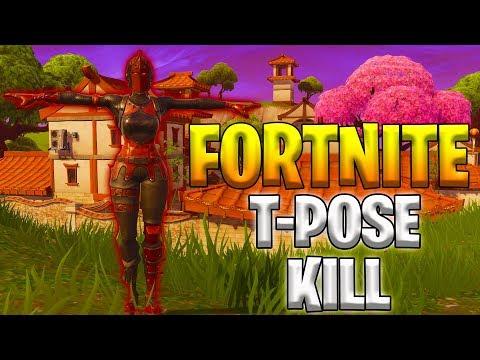 T-POSE KILL!!! (Fortnite Highlight Reel #29)
