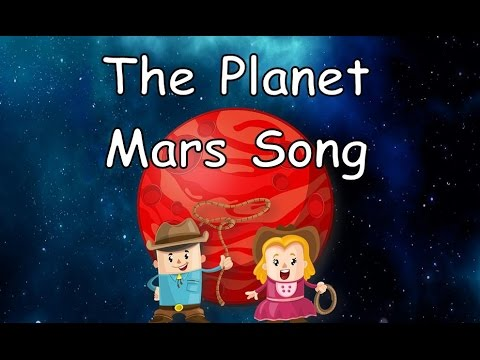 The Planet Mars Song | Planet Songs for Children | Mars Song for Kids | Silly School Songs