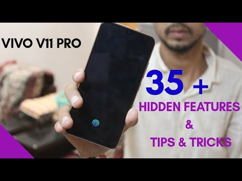 35 +Vivo V11 Pro Features / Tips & Tricks In Hindi