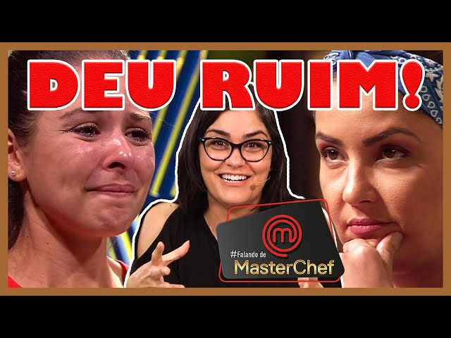 ????MasterChef Brasil: Haila tropeça no bacalhau lavado e Juliana abusa do sal | 04/08/2019