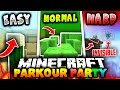 Minecraft PARKOUR PARTY! | (15 LEVELS OF FUN!) with PrestonPlayz