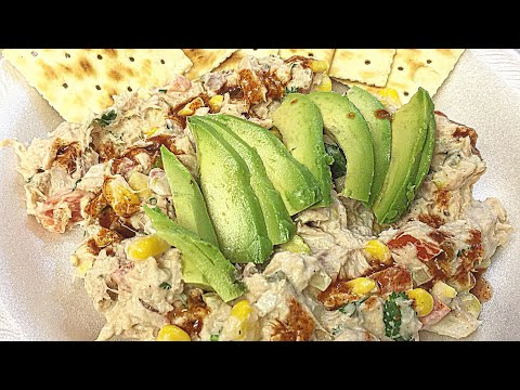 Easy Dinner Night – Mexican Tuna Salad