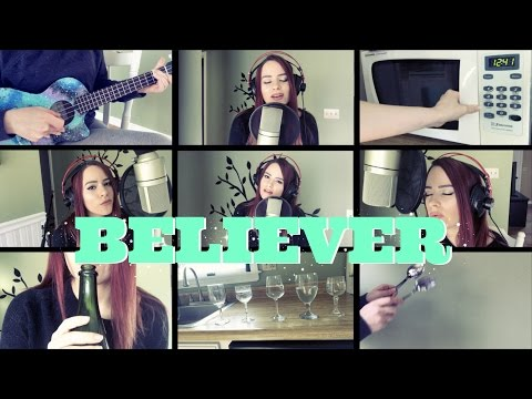 Believer - Imagine Dragons (Kelaska Ukulele Cover KITCHEN EDITION)