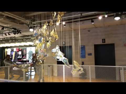 Michael Jordan Sculpture - Nike Store Chicago