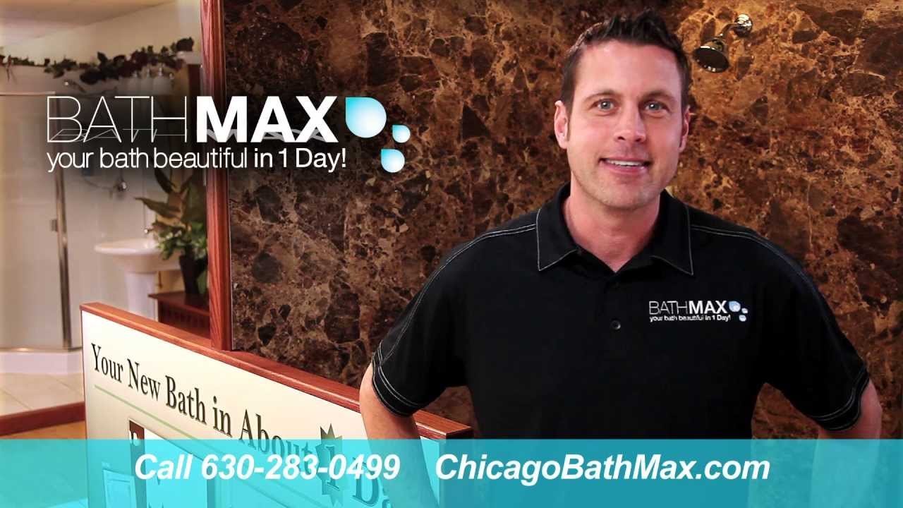 Chicago Bath Max - Tub to Shower Conversion in just one day! - YouTube