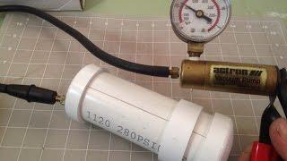 Vacuum Chamber   Prototype   How to make