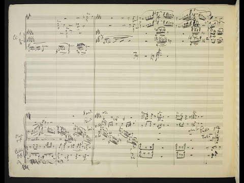 Mahler's 10th Symphony [MIS/Cooke III] (Audio + Handwritten Score)