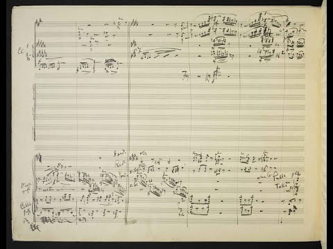 Mahler's 10th Symphony [MIS/Cooke III] (Audio + Handwritten Score)
