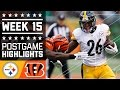 Steelers Vs. Bengals | Nfl Week 15 Game Highlights video