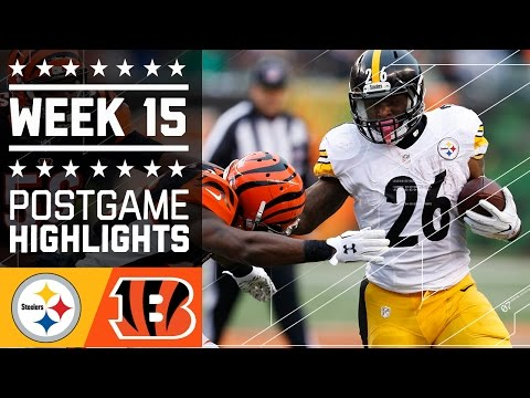 Steelers vs. Bengals | NFL Week 15 Game Highlights