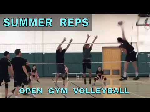 SUMMER REPS - Open Gym Volleyball 6/29/17