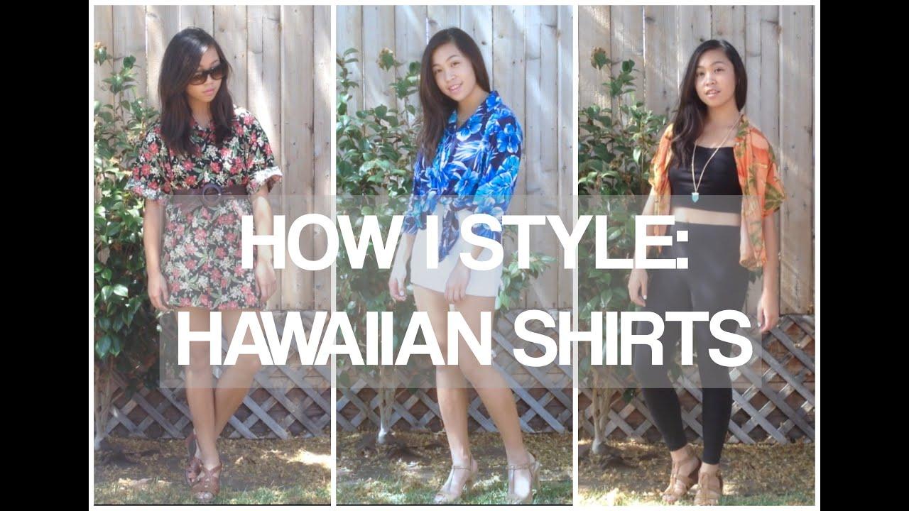 2f5d53a607c How I Style  Hawaiian Shirts - YouTube