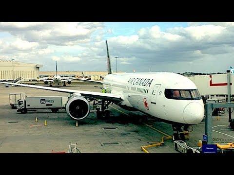 Air Canada Boeing 787-9 Economy Class Review | London Heathrow - Toronto Pearson AC849