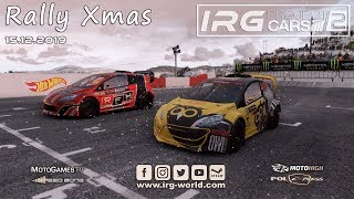 IRG Rally Xmas 2019 - Project Cars 2 - LIVESTREAM