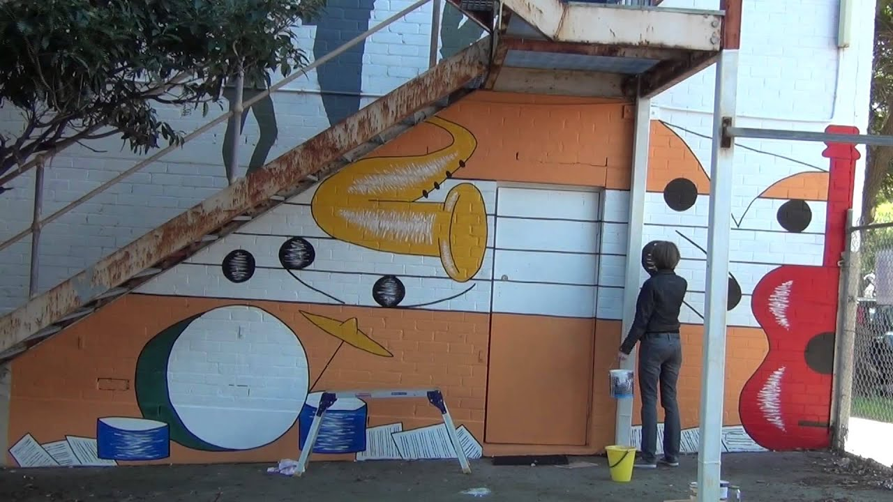 All Age Music Mural