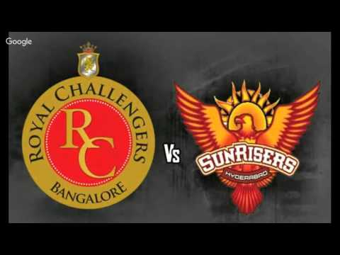 Royal Challengers Bangalore Vs Sunrisers Hyderabad Live Streaming