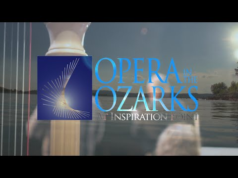 Opera in the Ozarks at Inspiration Point, where the students are the stars