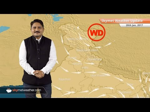 Weather Forecast for Jan 28: Clear weather in Kashmir, Himachal, Punjab, Delhi, fog likely
