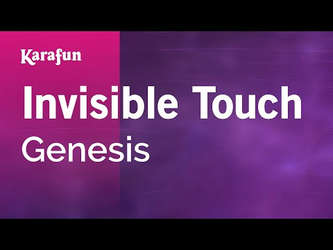 Karaoke Invisible Touch - Genesis *