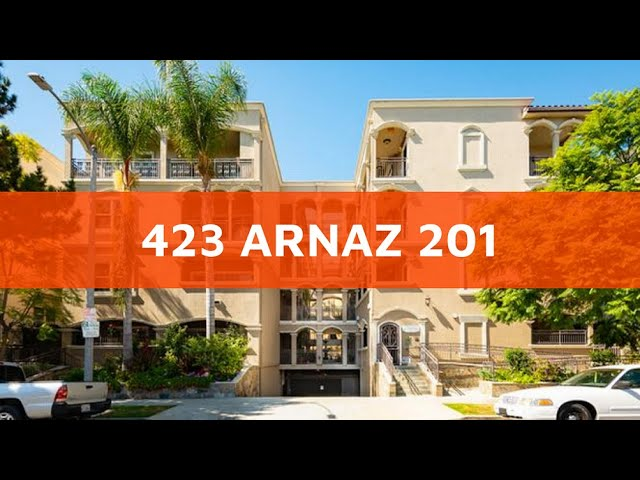 423 Arnaz 201, Los Angeles CA 90048