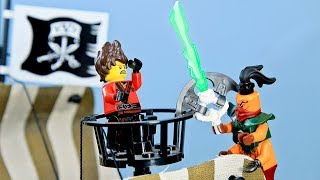 Lego PIRATES: NinjaGo vs Nadakhan