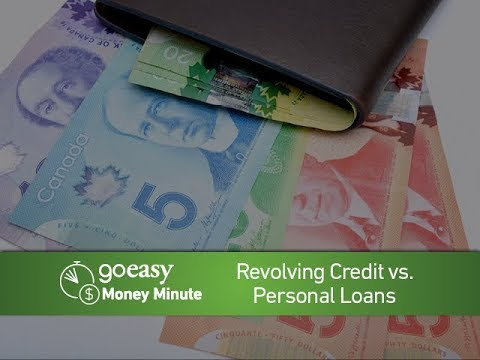 MoneyMinute - Revolving Credit vs. Personal Loans