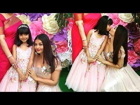 Aaradhya Bachchan 6th Birthday Party 2017 (Inside Video)- Aishwarya Rai,Abhishek,SRK,Abram