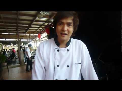 Hero Angeles message to CHAF and promotes the movie The Fighting Chefs(Aug. 25, 2012)