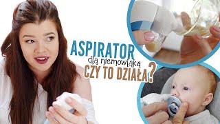 MAMA TESTUJE: NIEZBĘDNIK NOWORODKA mobilny aspirator i termometr przenośny