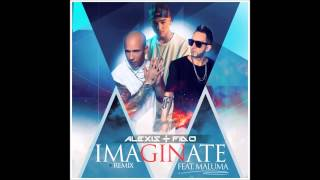 Alexis & Fido Ft. Maluma - Imaginate (Official Remix) (Audio Song)