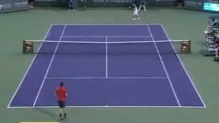 Marcos Baghdatis - Roger Federer - Indian Wells 2010