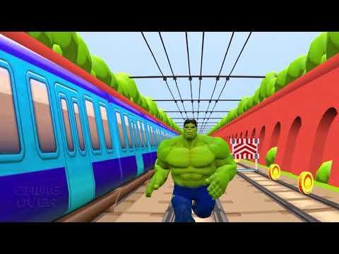 Subway Surfers  Vs Hulk