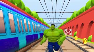 Subway Surfers  Vs Hulk