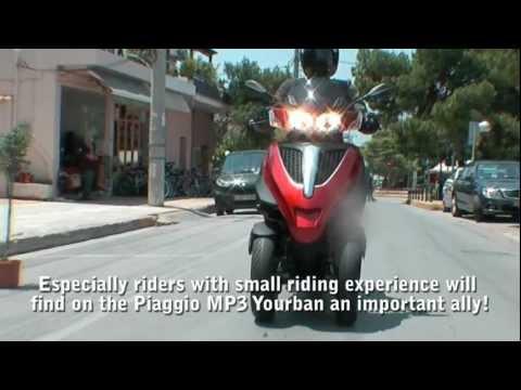 Piaggio MP3 300 Yourban - On Board Test