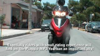 Piaggio MP3 300 Yourban - On Board Test