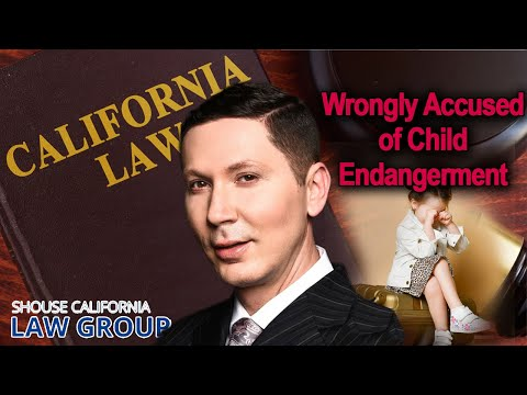 Wrongly Accused of Child Endangerment? Advice from a former D.A.