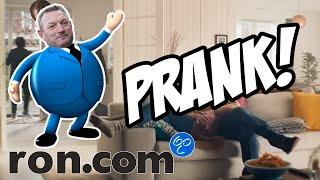 Ron.com - Prank! PRANK GAAT FOUT!!! (Bol.com - Geintje reclame parodie)