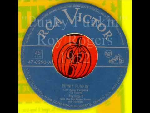 Punky Punkin Roy Rogers For Halloween