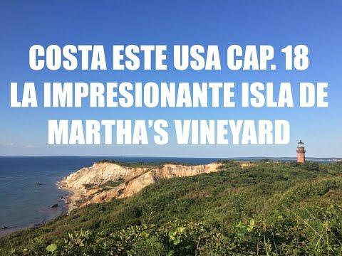 Guia de Viaje Costa Este USA #18 - Martha's Vineyard - Que ver en Martha's Vineyard en un dia