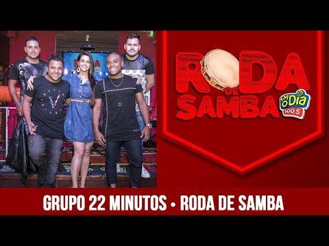 Grupo 22 minutos na Roda de Samba da FM O Dia
