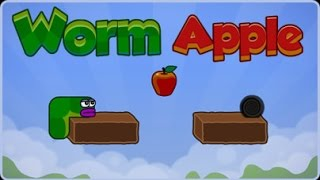 Apple Worm Game Walkthrough (All Levels)