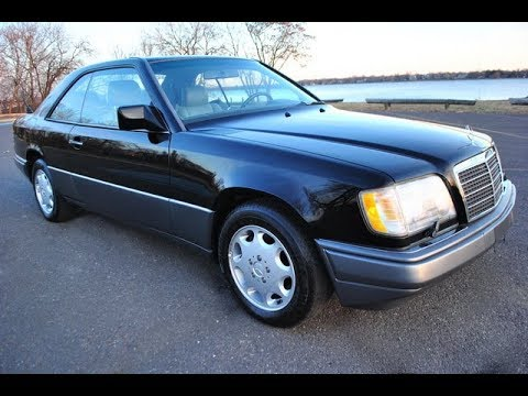 1994 mercedes benz e320 2 door coupe black youtube 1994 mercedes benz e320 2 door coupe black
